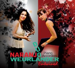 Naranjo-weurlande ny cd ENTWINED