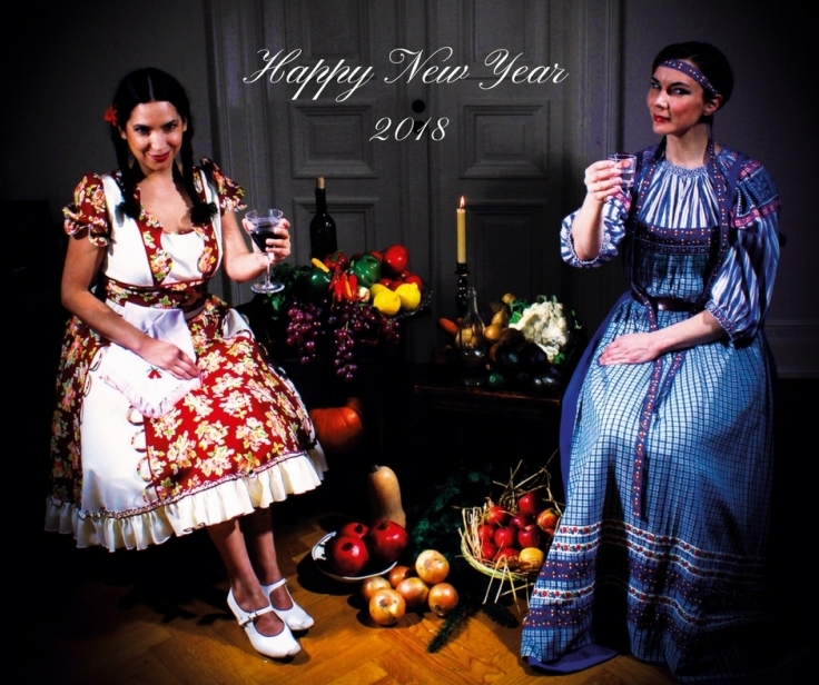 Duo Naranjo-Weurlander Happy New Year fb
